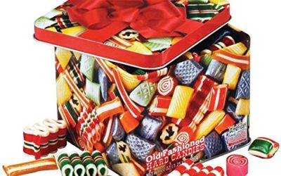 Old Fashioned Christmas Holiday Classics Mix Hard Candy in Decorative Tin – 16 oz.