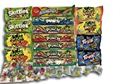 Super Sour Candy Care Package by AtHomePlus (40 Count) –Perfect Gift for College Dorm, Military or Office!!