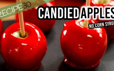 How to make candy apples without corn syrup,  a Halloween Special