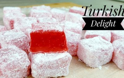 TURKISH DELIGHT PANG NEGOSYO (LOKUM) without candy thermometer and without gelatin