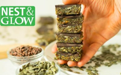 3 Ingredient Pumpkin Seed Chocolate Candy – Healthy and Easy