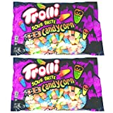 Trolli Sour Brite Brachs Candy Corn Seasonal Candy – 17 oz Per Bag – Cherry Lemon, Strawberry Grape, and Orange Lime – Choose 2 Pack or 4 Pack (2 Pack)
