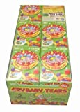 Cry Baby Tears Extra Sour Candy, Five Flavors, 1.9-ounce Boxes (Pack of 24)