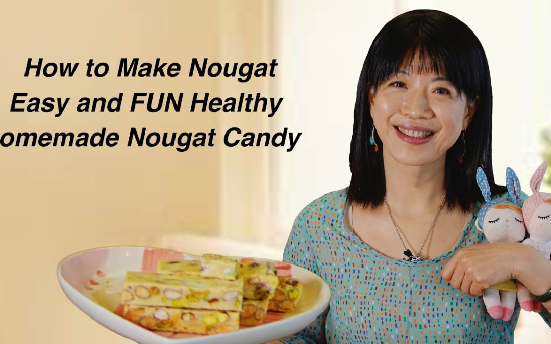 Easy Nougat Candy Recipe With Marshmallow (牛轧糖)