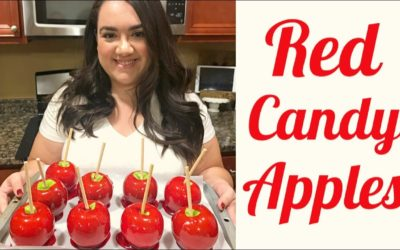 Perfect Red Candy Apples || Easy Candy Apple Recipe