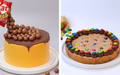 Creative Chocolate Cake Decorating Recipes With KITKAT And Candy M&M | So Yummy Cake Tutorials