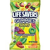 LIFE SAVERS Sours Gummies Candy, 7-Ounce Bag