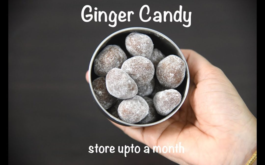 ginger candy recipe | winter special storable ginger candy | ginger peppermint recipe