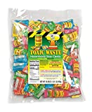 Toxic Waste – Hazardously Sour Candy, 5 Assorted Flavors ~ 1 pound bag