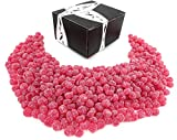 Gustaf's Sour Cherry Dots, 2.2 lb Bag in a BlackTie Box