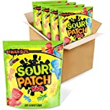 SOUR PATCH KIDS Soft & Chewy Candy, Family Size, 4 – 1.8 lb Bags