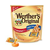 WERTHERS ORIGINAL Sugar Free Caramel Hard Candies, 7.7 Ounce (Pack of 2), Hard Candy, Individually Wrapped Candy Caramels, Caramel Candy Sweets