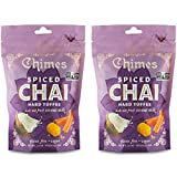 Chimes Coconut Spiced Chai Hard Toffee Candy (Pack of 2)
