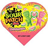 Sour Patch Kids Watermelon Flavor Candy – 1 Heart-Shaped Box, 1Count