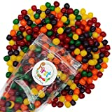Assorted Fruit Sours Chewy Mix Flavor Candy Balls 2 LB Bag