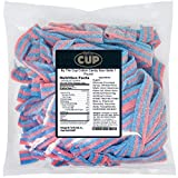 By The Cup Cotton Candy Sour Belts 1 Pound