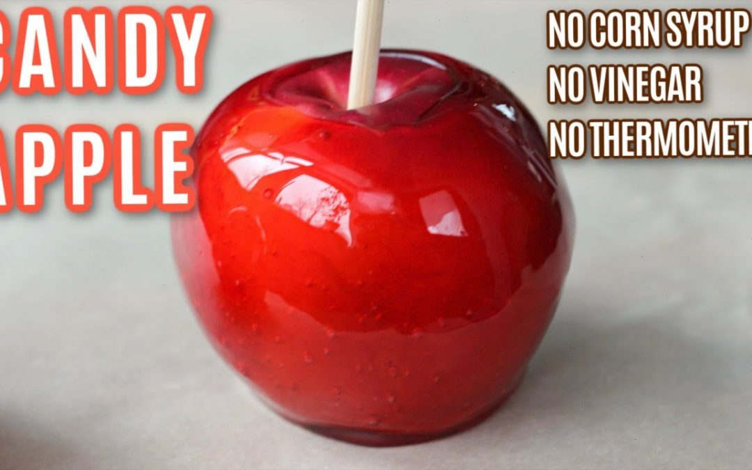 Candy Apple Recipe Without Corn Syrup | How To Make Candy Apples | Simple and Delish by Canan