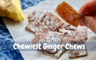 Chewiest Ginger Candy Recipe | How to Make Ginger Chews in 15 Mins