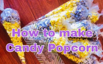 How To Make: Candy Popcorn